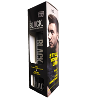 ID BLACK DUO TOTAL 250ML + FIBER WAX 100ML